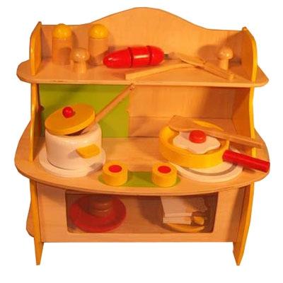 Fornuis tafelmodel geel
