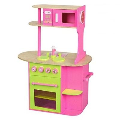 Keuken roze groot