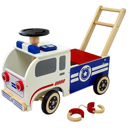 Loopwagen politie; I'm Toy 87210