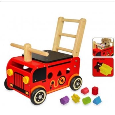 Loopwagen brandweer; I'm Toy 87480