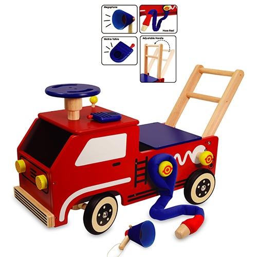 Loopwagen brandweer; I'm Toy 87120