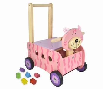 Loopwagen poes; I'm Toy 87151