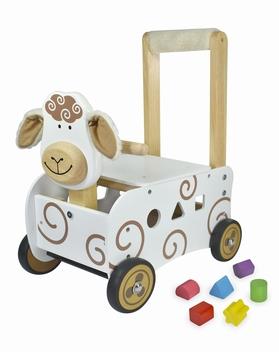 Loopwagen schaap; I'm Toy 87401