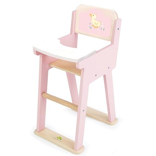 Poppen kinderstoel roze sweetiepie; Tenderleaftoys 8103