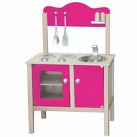 Keuken blank / hard roze; Bladh: 48 CM