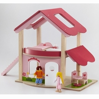 Poppenhuis roze; Wonderworld 4549
