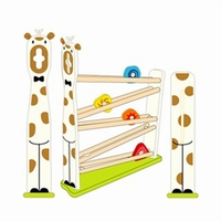 Rollerbaan giraf wit; I'm Toy 29550