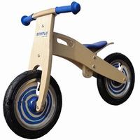 Loop fiets blauw Simply; anti-lek band met foam vulling