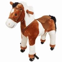 Mechanisch rijdend paard met geluid