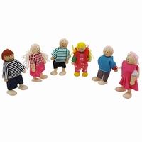 Buigpop set kinderen; 6-delig