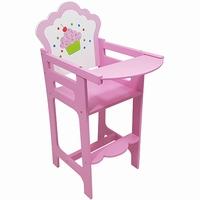 Poppen kinderstoel roze