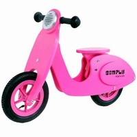 Scooter roze Simply